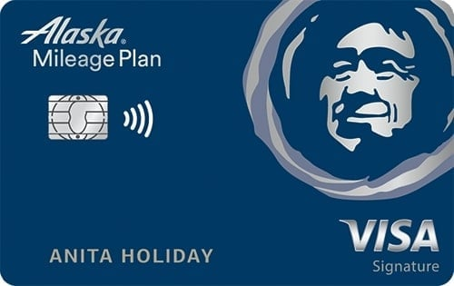 Bank of America Alaska Airlines Visa Signature®  Credit Card