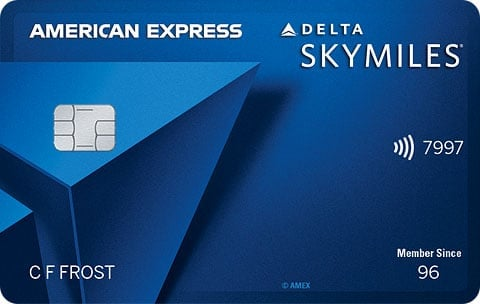 Blue Delta SkyMiles® Credit Card from American Express""
