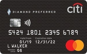 Citibank Diamond Preferred Credit Card