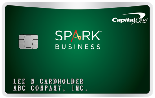 Capital One Spark Cash Select Business Credit Card
