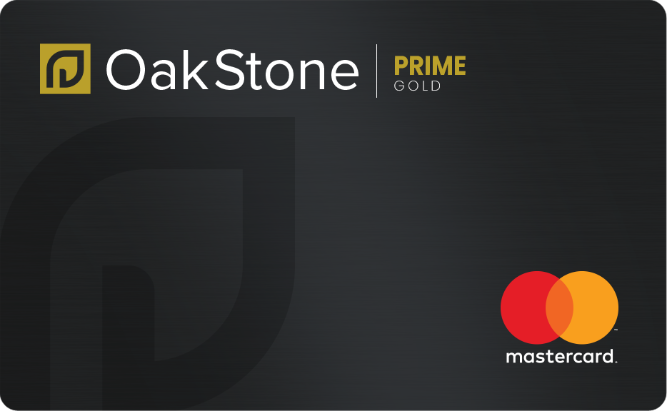 Oakstone Gold Secured Mastercard