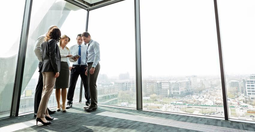 Should I use a commercial mortgage broker when buying a business property?